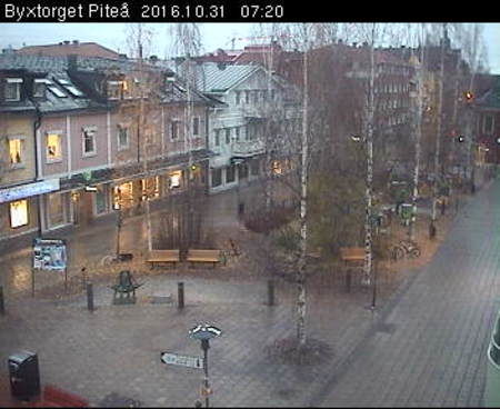 Byxtorget i Pite